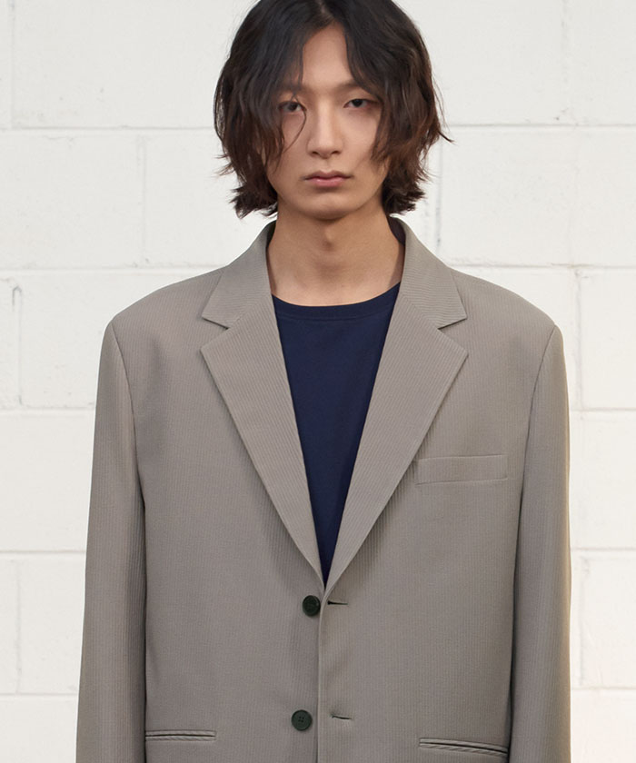 PLEATS JACKET[BEIGE]